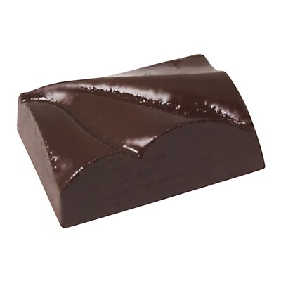 "Paderno World Cuisine 1.37"" Rectangular Waves Chocolate Mold"