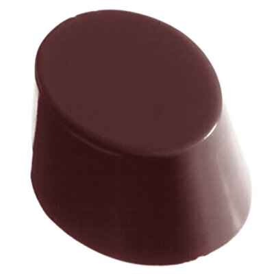 Smooth Oval Chocolate Mold