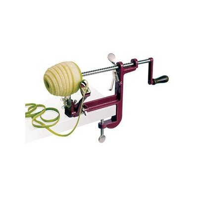 Paderno World Cuisine Apple Peeler with Clamp