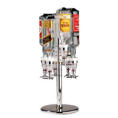 Paderno World Cuisine Revolving Six Bottle Rack