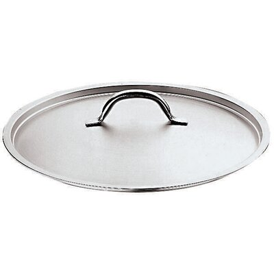 Stainless Steel Lid with Riveted Handle