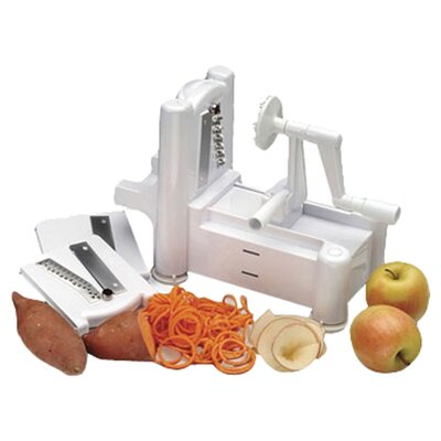 Paderno World Cuisine Plastic Spiral Vegetable Slicer