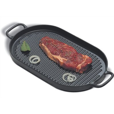 Paderno World Cuisine Cast Iron 13.75' Grill Pan