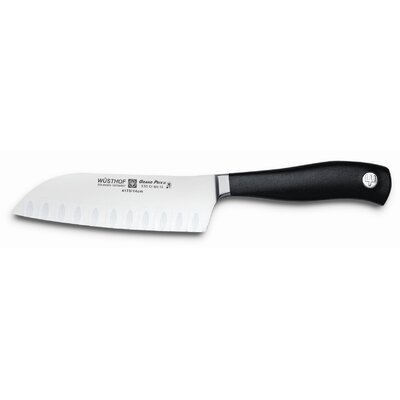 "Wusthof Grand Prix II 5"" Santoku with Hollow Edge"