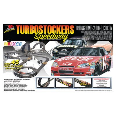 Life-Like Nascar Turbostockers Speedway Car Set
