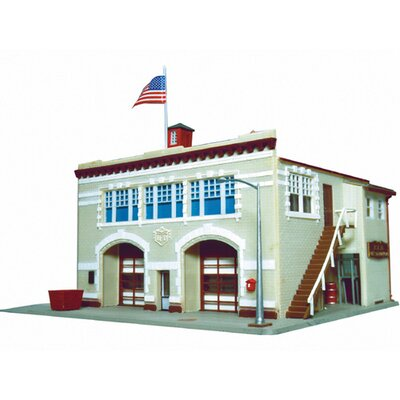 Life-Like Trains® HO Scale Hampden Fire Engine House