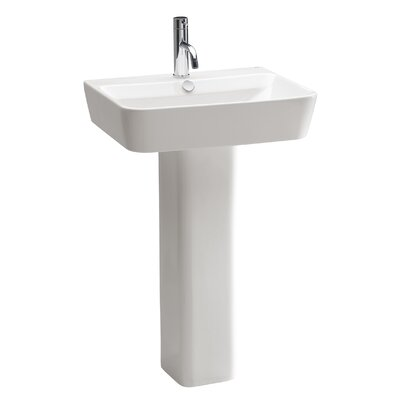 Bissonnet Emma Pedestal Bathroom Sink