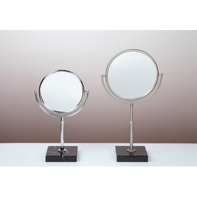 Bissonnet Kosmetic Olympia 5X Mirror in Brushed Nickel