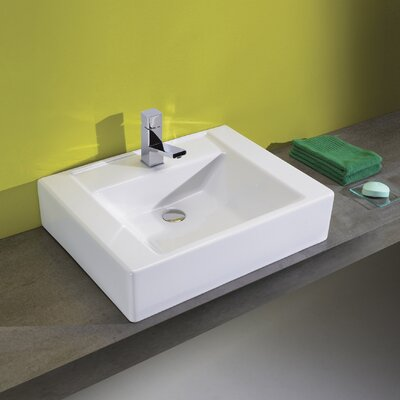 "Bissonnet Universal 23.6"" Casual Bathroom Vanity Set"