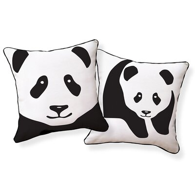 Naked Decor Giant Panda Pillow