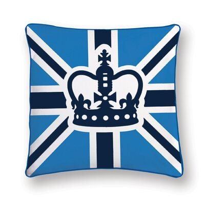 Naked Decor British Invasion Prince Reversible Pillow
