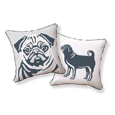 Naked Decor Pug Pillow