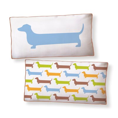 Naked Decor Super Dachshund Long Pillow