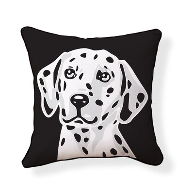 Naked Decor Dalmatian Double Sided Cotton Pillow
