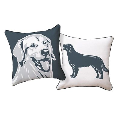 Naked Decor Pooch Décor Golden Retriever Portrait