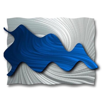 "All My Walls Hydrodynamic Abstract Wall Art - 21"" x 28"""