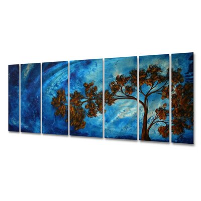 "All My Walls To The Sky Ii by Megan Duncanson, Abstract Wall Art - 23.5"" x 60"""