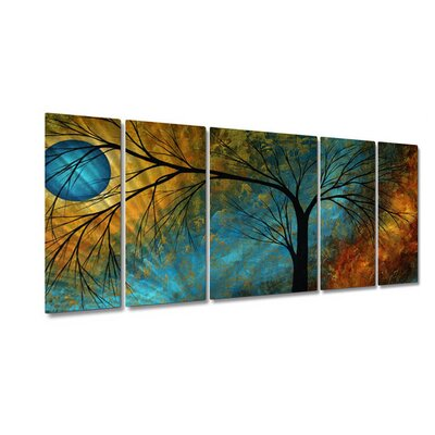 "All My Walls Beauty In Contrast by Megan Duncanson, Abstract Wall Art - 23.5"" x 52"""