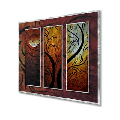 "All My Walls Mellow Moon by Megan Duncanson, Abstract Wall Art - 29"" x 31.5"""