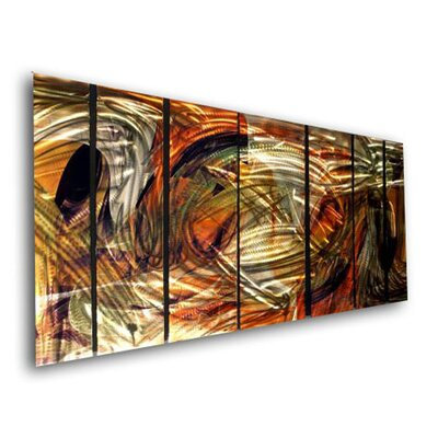 Abstract by Ash Carl Holographic Wall Art - 23.5