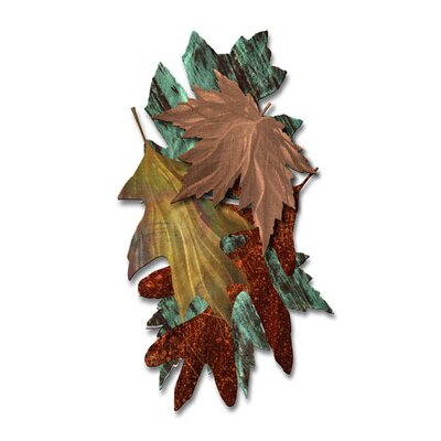 Leaves of Metal Wall Hanging