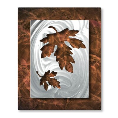 Oaky Leaflets Wall Sculpture