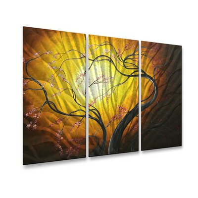 All My Walls Blossoming in the Sun Metal Wall Art