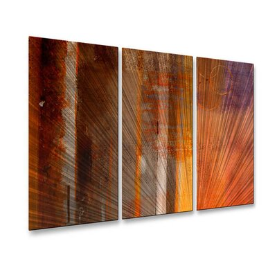Ocean Shore Zone Metal Wall Decor