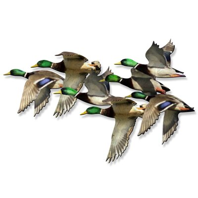 String of Mallards Wall Art
