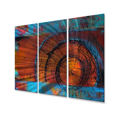 All My Walls Time Traveler Metal Wall Décor