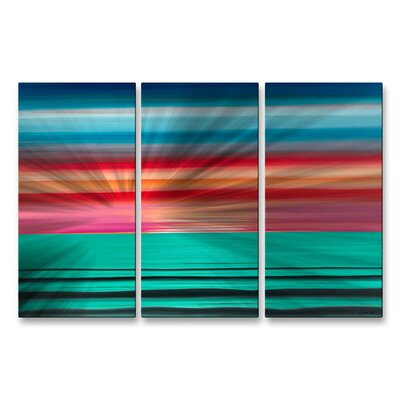 Sea The Magenta Wall Sculpture