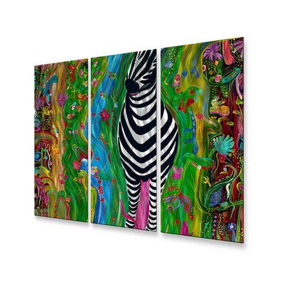 All My Walls Zebra Wall Sculpture
