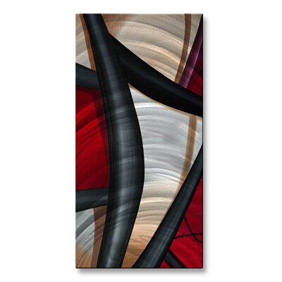 Wow and Red 2 Metal Wall Décor