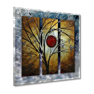 All My Walls Blossoms Metal Wall Hanging