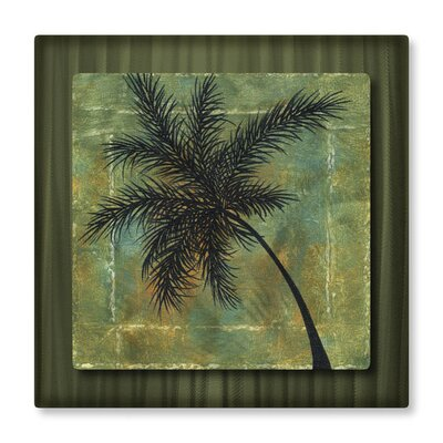 Tropical wall art wayfair for Tropical metal wall art