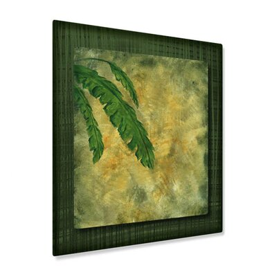 All My Walls Tropical Splash II Metal Wall Sculpture