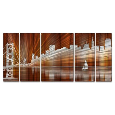 San Francisco Skyline Metal Art