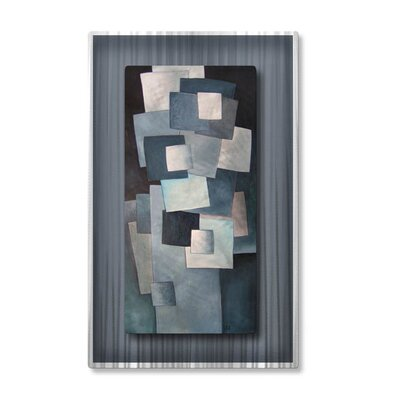 Squares Metal Wall Hanging