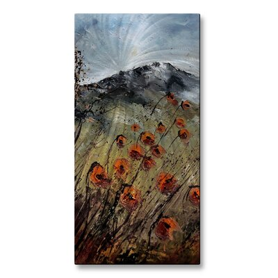 Toward Mountain Tops Metal Wall Decor