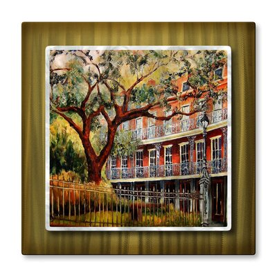 Jackson Square Metal Wall Hanging
