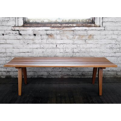 Semigood Design Rift Wooden Bench