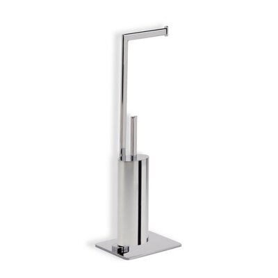 Stilhaus by Nameeks Diana Free Standing Two Function Bathroom Butler in Chrome
