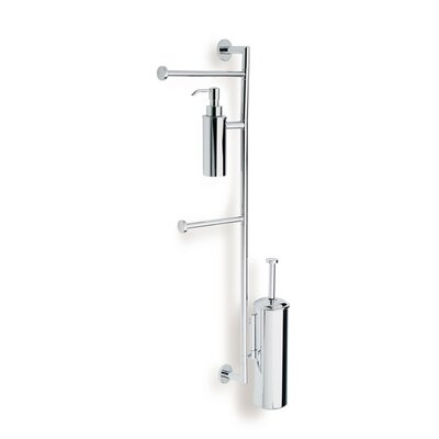 Stilhaus by Nameeks Medea Bathroom Butler in Chrome