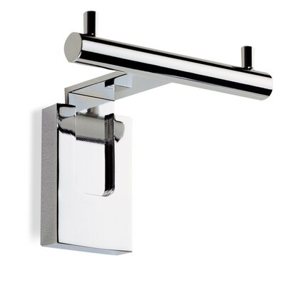 Stilhaus by Nameeks Quid Wall Mounted Double Robe Hook in Chrome