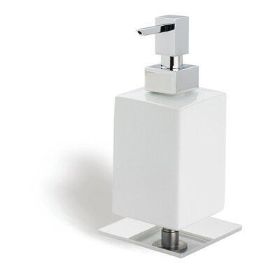 Stilhaus by Nameeks Urania Square Soap Dispenser in Chrome