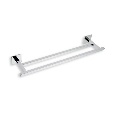 "Stilhaus by Nameeks Urania 12"" Wall Mounted Double Towel Bar"