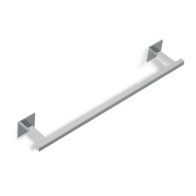 "Stilhaus by Nameeks Urania 18"" Wall Mounted Towel Bar in Chrome"