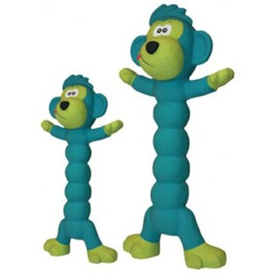 Stilhaus by Nameeks Large Zonkers Monkey Dog Toy in Blue