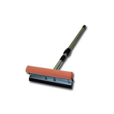 Carrand Squeegee 8&quot; Metal Head With 21 - 36&quot; Ext Handle