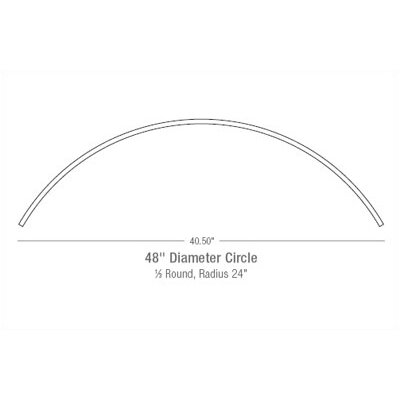 "LBL Lighting 48"" Monorail Circle in Bronze"